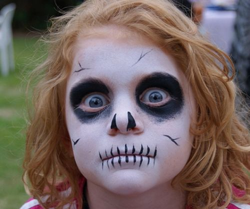 5 cool and scary halloween makeup ideas to make you stand - Pintura cara halloween ...